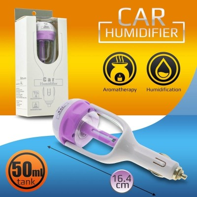Car charger + humidifier purple